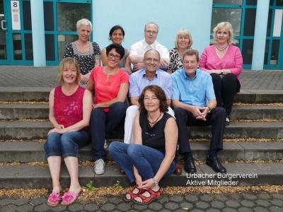 Urbacher Bürgerverein aktive Mitgielder
