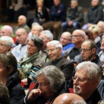 Publikum der 1. Bürgerversammlung